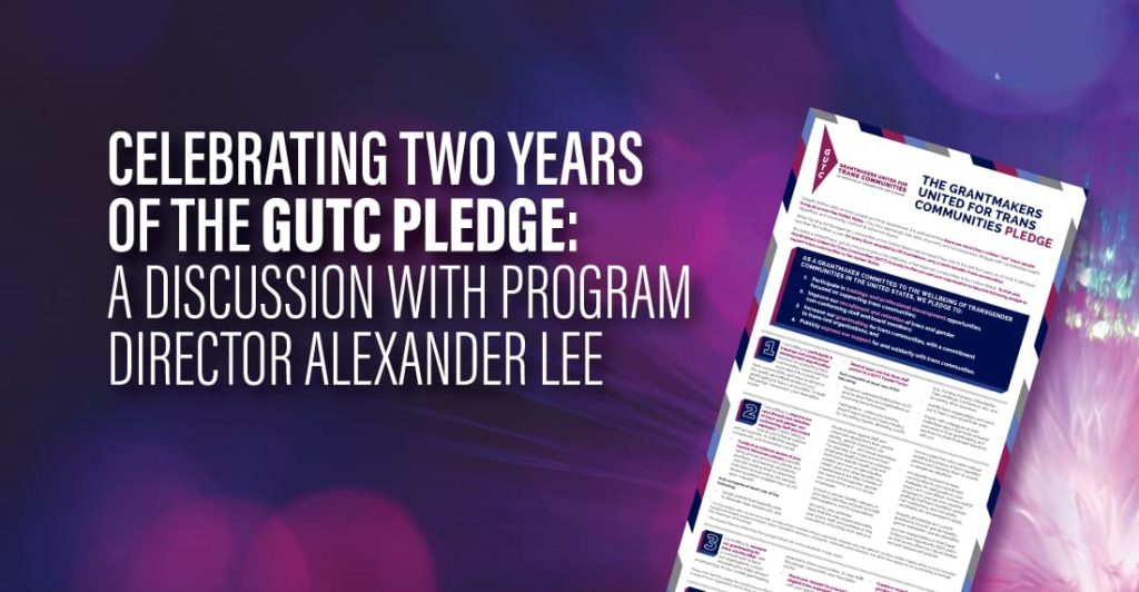 Celebrating Two Years of the GUTC Pledge: A Discussion with Program Director Alexander Lee
